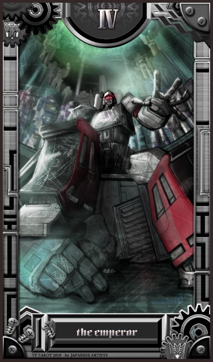 Cybertron Tarot Cards: The Emperor