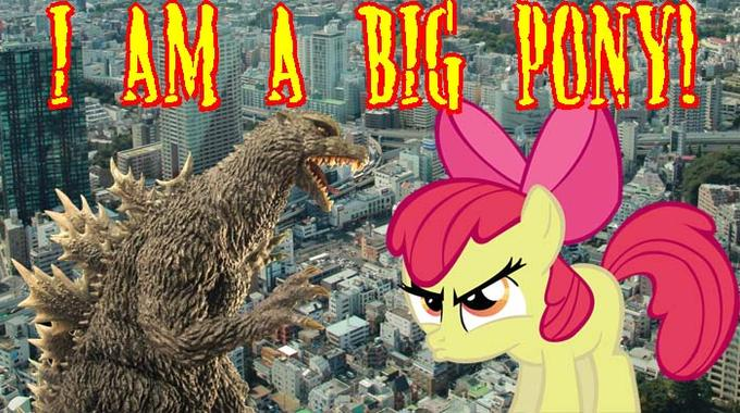 I am a big pony!