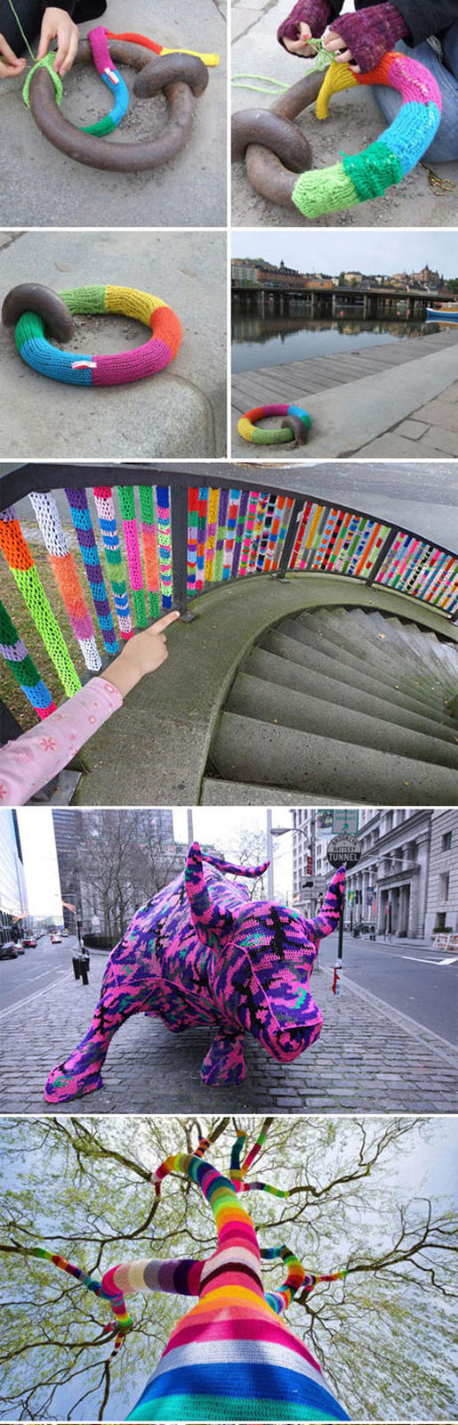 Massive Yarn Bombing Collection 1