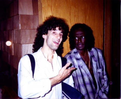 Miles Davis Not Amused By Kenny G