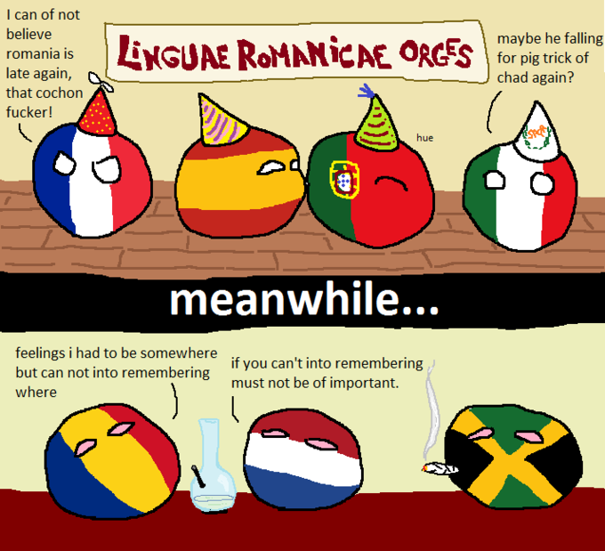 Romania still cannot into Romance Party