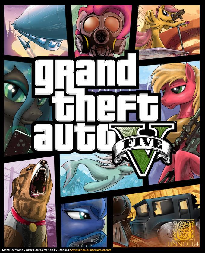 Grand Theft Auto Pony Style