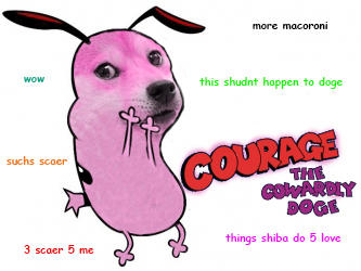 Courage the Cowardly Doge