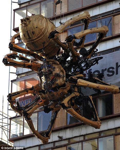 SCP-278 A Large Mechanical Spider
