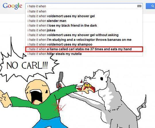 Damn it Carl
