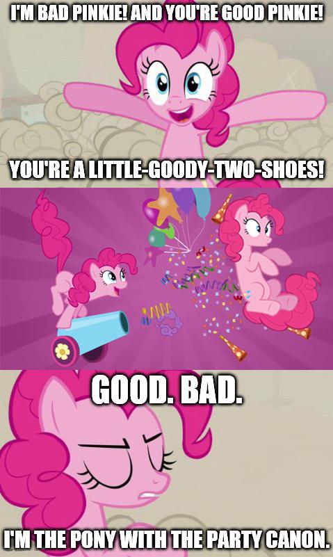 Good Pinkie/Bad Pinkie
