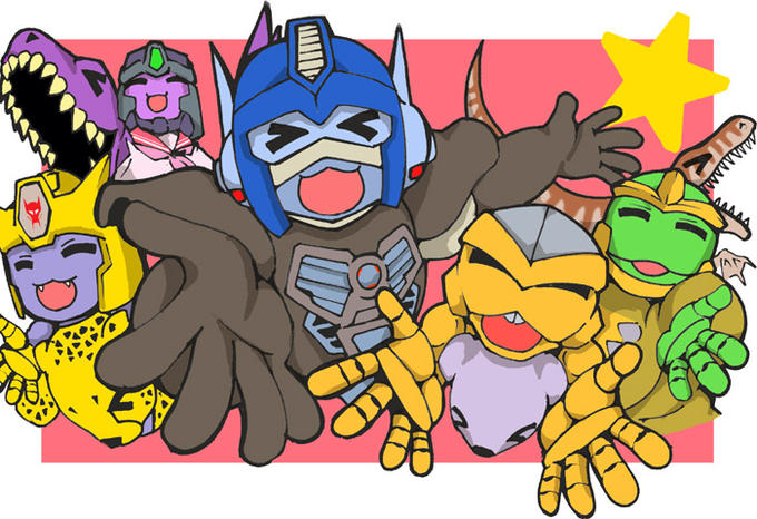 Lucky Star X Beast Wars