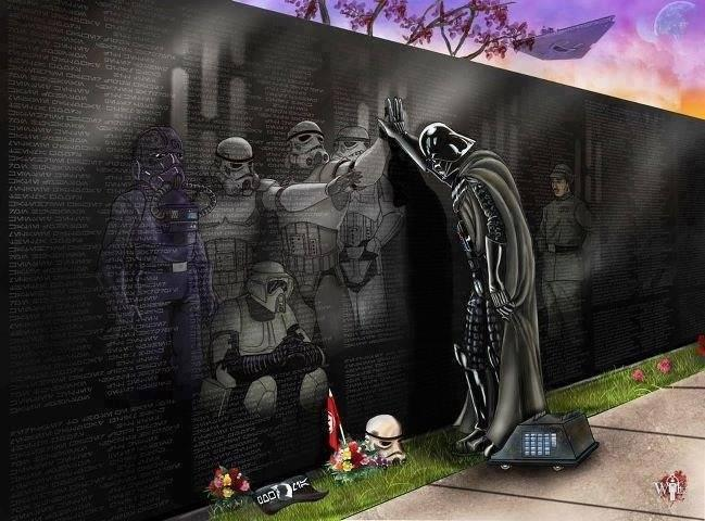 Death Star Memorial Wall