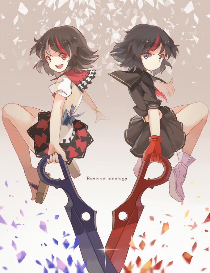 Seija(Touhou) vs Ryuuko (Kill La Kill)