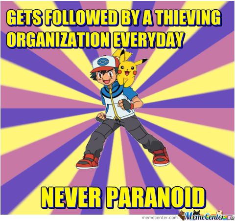 Never Paranoid