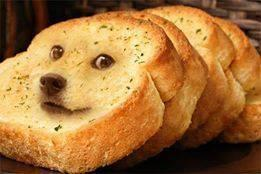 Doge Garlic Bread