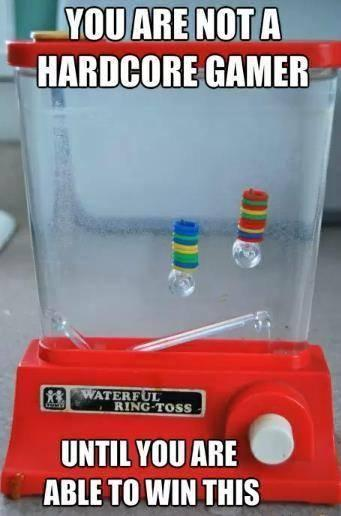 Hardcore Water Ring Toss