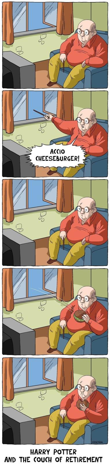 Harry Potter and the Couch of Retirement
