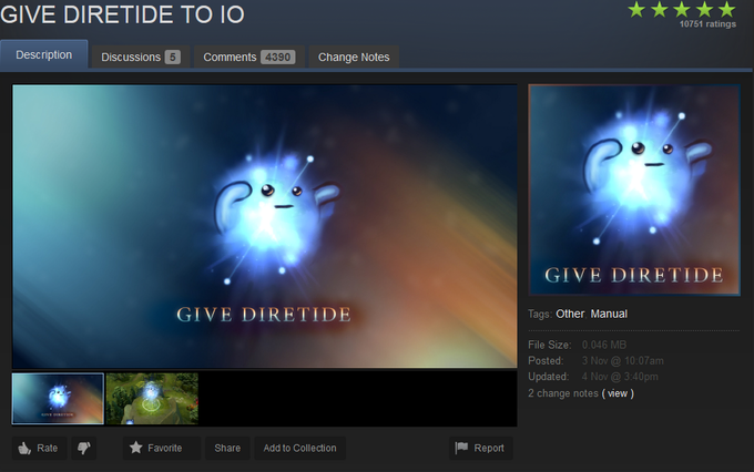 Give Diretide to Io