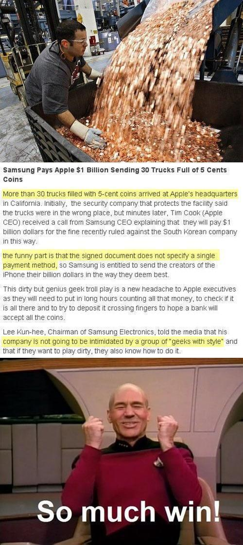 Damn Samsung