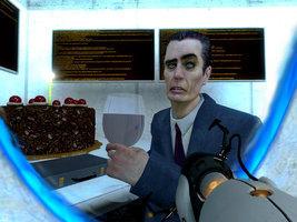 The G Man Likes Cake!