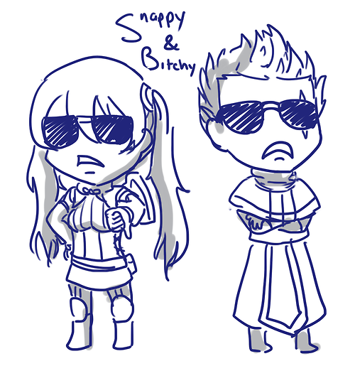 Snappy and Bitchy (Snark and Bark) Servera and Brady