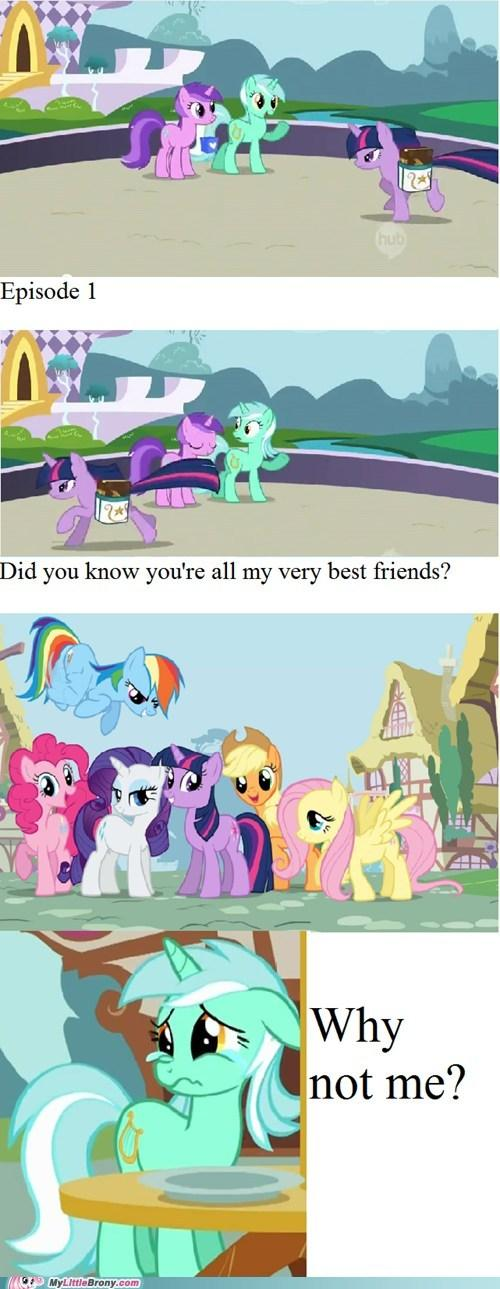 Lyra the first friend