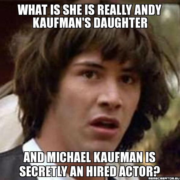 Conspiracy Keanu On Andy's Daughter Hoax