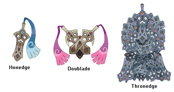 Honedge's Supposed Third Evolution
