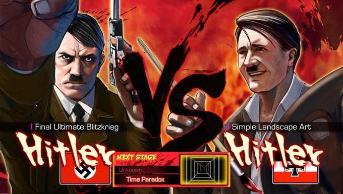 Hitler vs Hitler