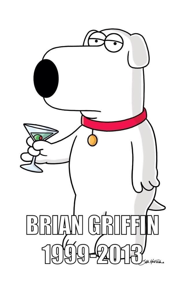 Brian is the dead griffin.