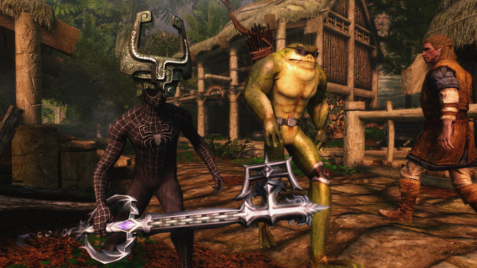 When Skyrim modders lose their minds