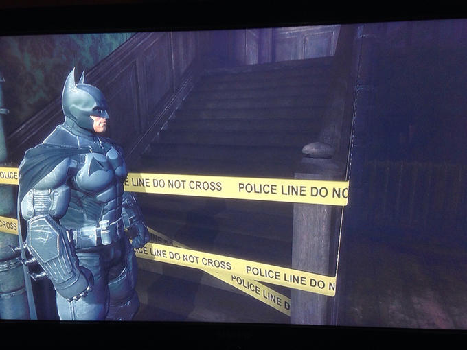 The worst kind of impenetrable wall in games.