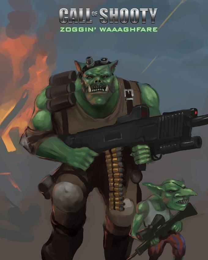 Call of Shooty: Zoggin' Waaaghfare