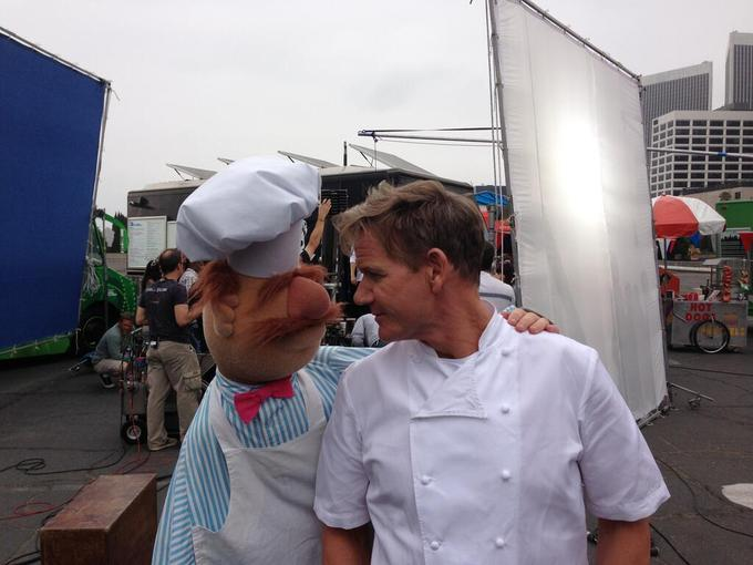 The Swedish Chef & Gordon Ramsay