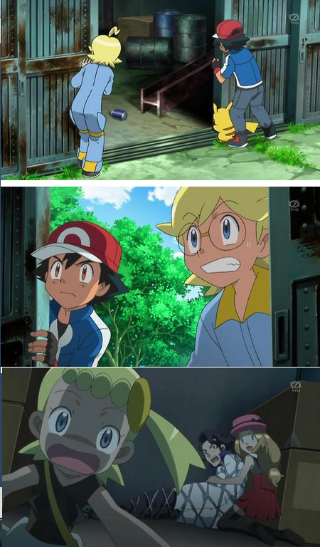 What is with the Pokemon XY Series and Bondage?