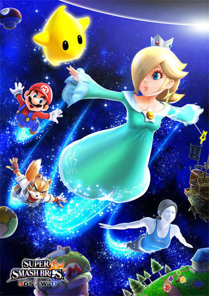 Rosalina in next the smash bros