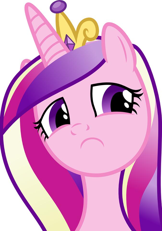 Sad Cadance Is Sad My Little Pony Friendship Is
