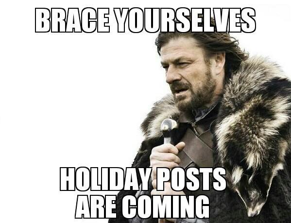Holiday shit