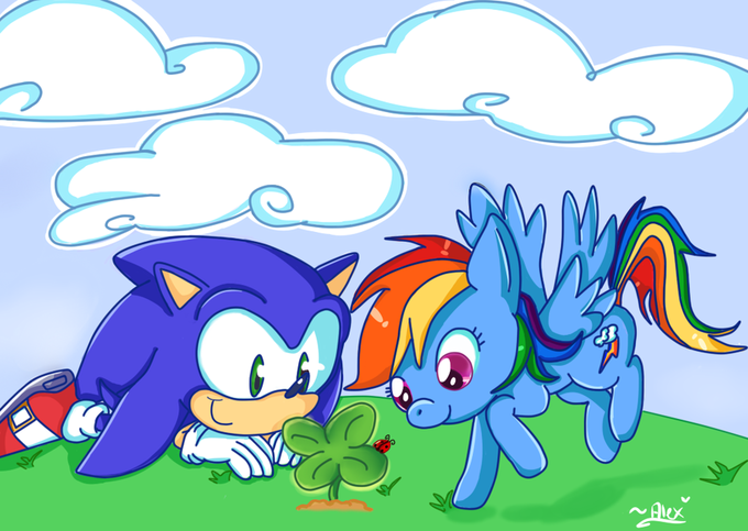 A Rabid Brony Will Find This Disgusting. I don't support the ship, but by God, can't these two get along without fuss?