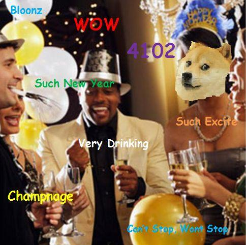 New Year's Doge