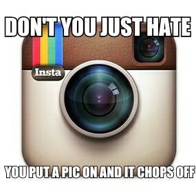 Instagram. Chop meme