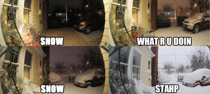 Snow Stahp