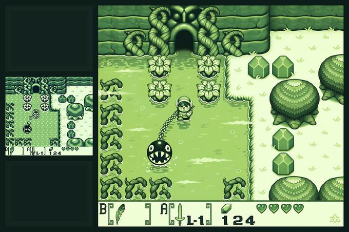 Zelda: Link's Awakening Fanart Remake by Einen