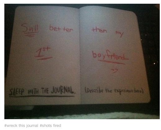 Shots Fired Journal