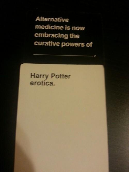 Cards Against Humanity Harry Potter
