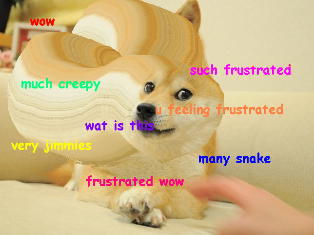 Wow, such frustration