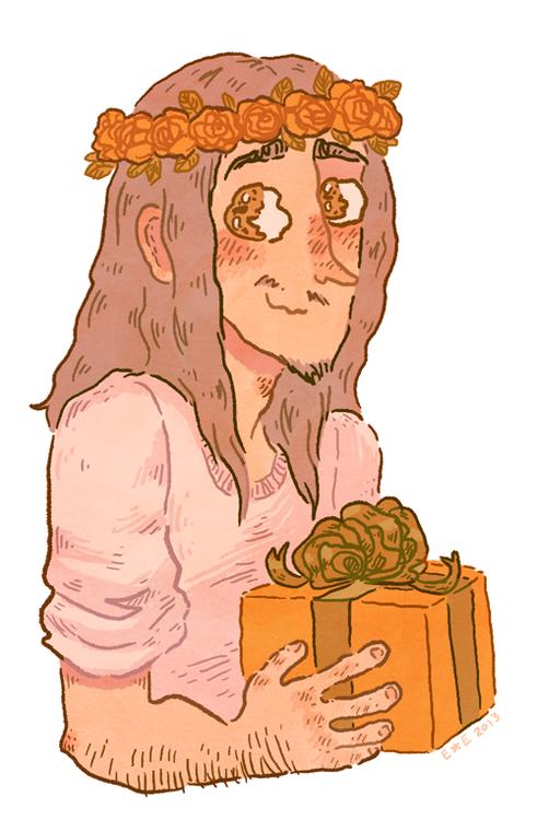 Jesus flower crown
