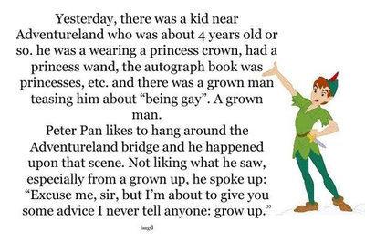 Peter Pan owns