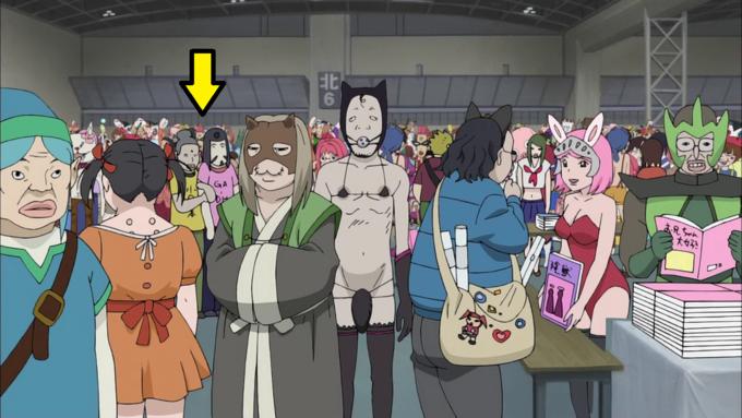 """Jesus & Buddha cameo in """"Azazel-san"""" (also Link)"""