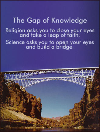 Gap of knowledge