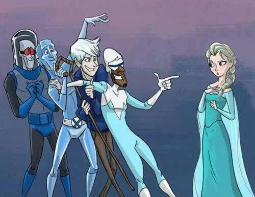 Elsa's Suitors