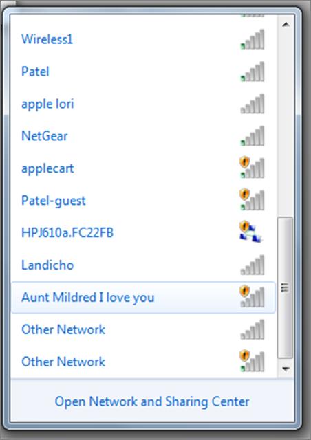 I Love Aunt Mildred
