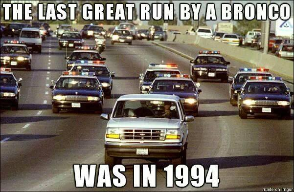 The last great Bronco run!