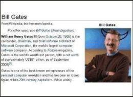 "Bill ""Spawn of Satan"" Gates"